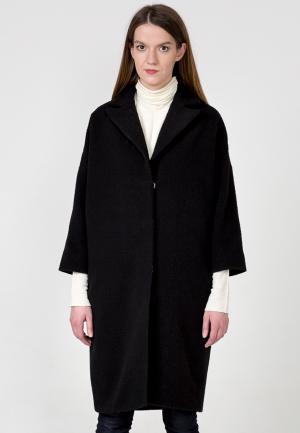 Пальто Yksstуdio. Цвет: черный