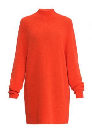 Туника из шерсти 153301 Norsoyan. Цвет: оранжевый