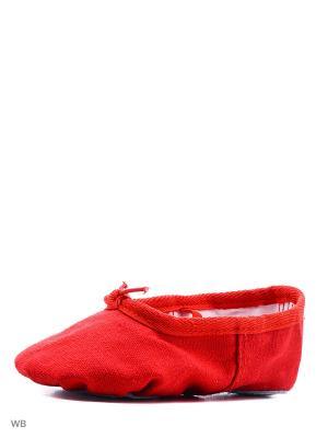 Балетки Dance.. Цвет: красный
