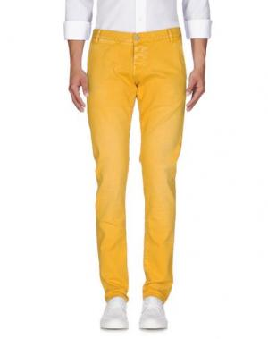 Джинсовые брюки 2W2M. Цвет: охра