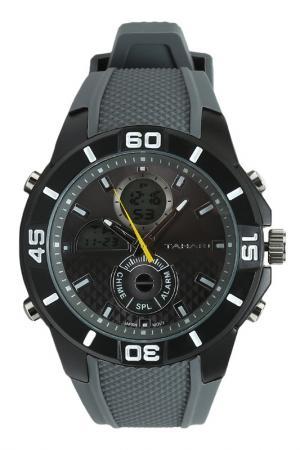 Часы TAHARI. Цвет: gray, black