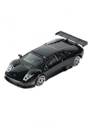 Машинка Lamborghini Murcielago R-GT, Черная (1:64) (PS-0616606-BL) Pit Stop. Цвет: черный