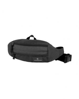 Рюкзаки и сумки на пояс VICTORINOX. Цвет: черный