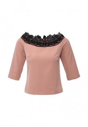Блуза Piena. Цвет: розовый