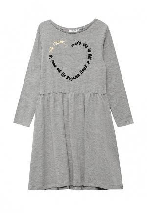 Платье Incity. Цвет: серый