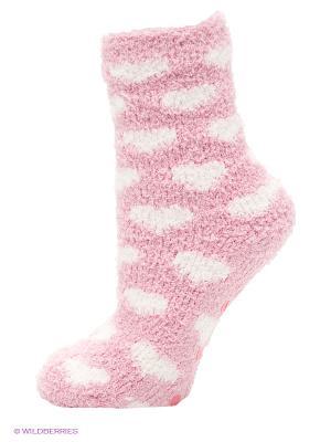Носки Oodji. Цвет: розовый