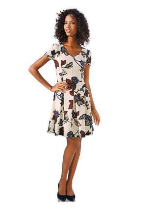 Моделирующее платье ASHLEY BROOKE by Heine. Цвет: цветной