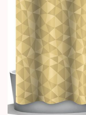 Штора д/ванн 240х200 Diamante Bacchetta. Цвет: светло-бежевый, темно-бежевый