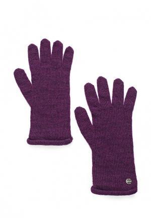 Перчатки Coccinelle. Цвет: фиолетовый