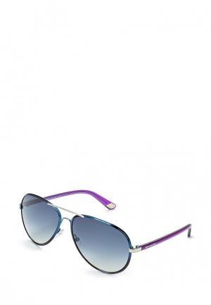 Очки солнцезащитные Juicy Couture. Цвет: синий