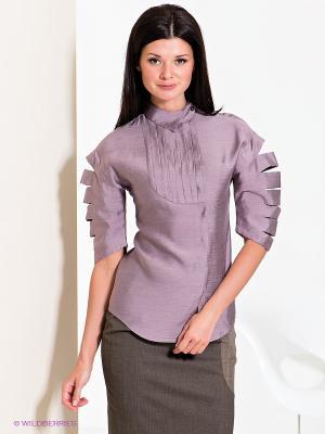 Блузка Elena Shumilo. Цвет: сиреневый