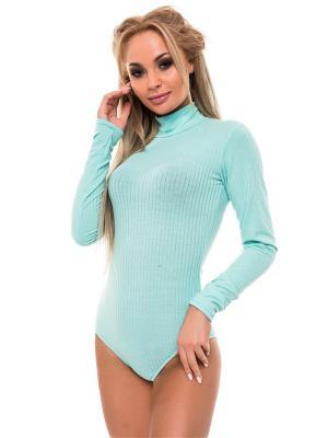 Блузка-боди Issa Plus. Цвет: светло-зеленый