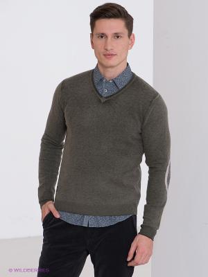 Пуловер Fred Mello. Цвет: серо-зеленый