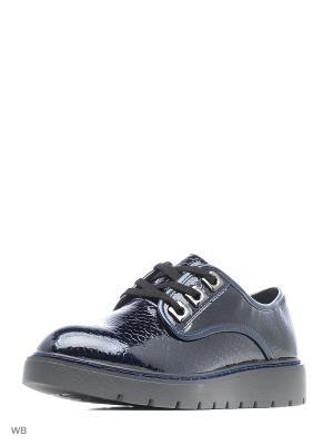 Ботинки Aotoria. Цвет: темно-синий