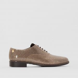Ботинки дерби непромокаемые Sparkle LEMON JELLY. Цвет: золотистый