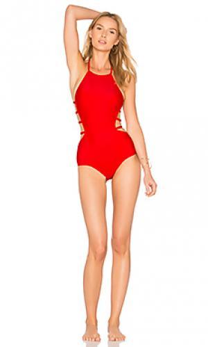 Слитный купальник amelia CHROMAT. Цвет: красный
