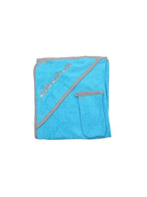 Набор для купания Клякса. Цвет: бирюзовый, синий