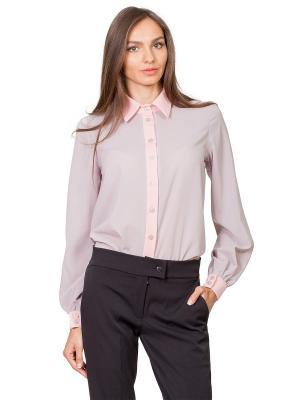 Рубашка La Via Estelar. Цвет: серый