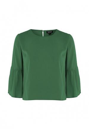 Блуза Topshop. Цвет: зеленый