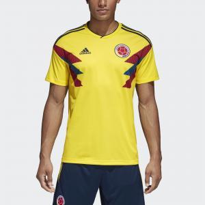 Домашняя игровая футболка сборной Колумбии  Performance adidas. Цвет: желтый
