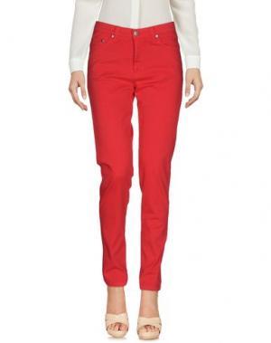 Повседневные брюки TAVIANI. Цвет: красный