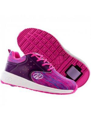 Роликовые кроссовки Heelys. Цвет: розовый
