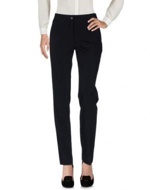 Повседневные брюки MARTA PALMIERI. Цвет: черный