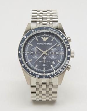 Emporio Armani Наручные часы с хронографом AR6072. Цвет: серебряный