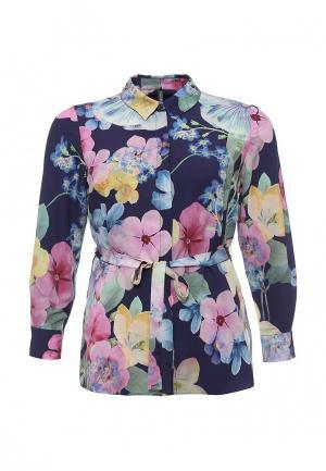 Блуза Bestia Donna. Цвет: разноцветный