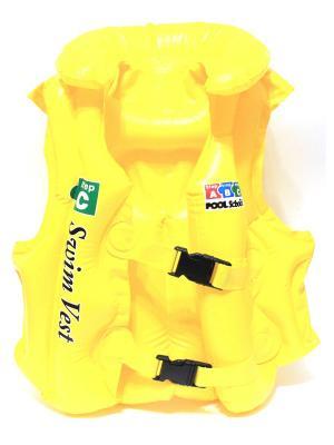 Плавательный жилет Eleon. Цвет: желтый