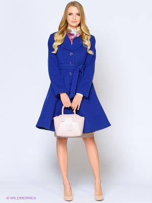 Пальто Stets. Цвет: синий