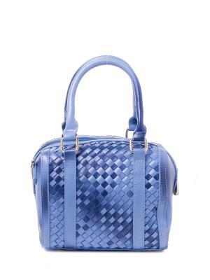Сумка RENEE KLER. Цвет: голубой