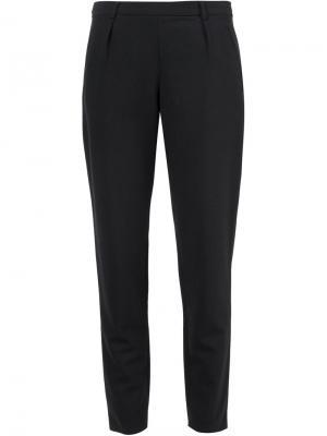 Зауженные к низу брюки A.P.C.. Цвет: чёрный