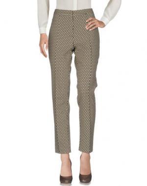 Повседневные брюки NATAN COLLECTION. Цвет: бежевый