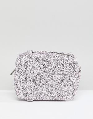 Skinnydip Блестящая сумка через плечо. Цвет: мульти