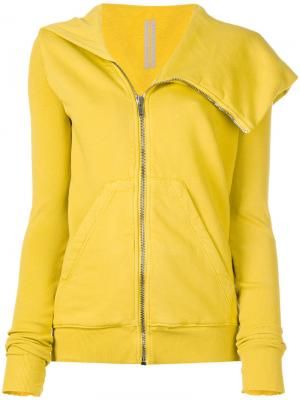 Куртка на молнии Rick Owens DRKSHDW. Цвет: жёлтый и оранжевый