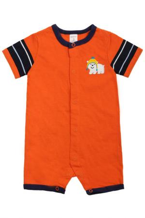 Песочник Carters. Цвет: оранжевый
