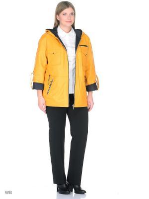 Куртка ALIANCE FUR. Цвет: желтый