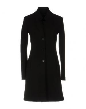 Легкое пальто FABRIZIO LENZI. Цвет: черный
