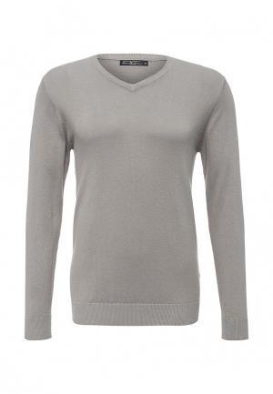 Пуловер Bruno Leoni. Цвет: серый