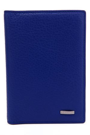 Обложка для документов Valeri. Цвет: голубой