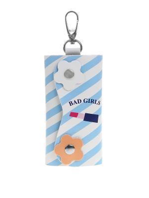 Ключница Bags Garden. Цвет: голубой, белый