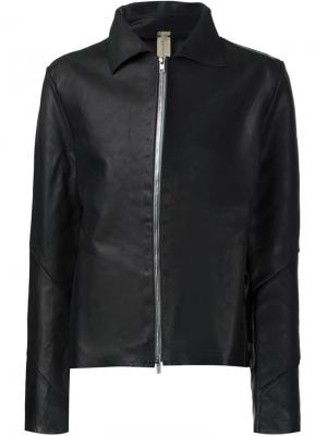 Куртка с застёжкой на молнии A Diciannoveventitre. Цвет: чёрный