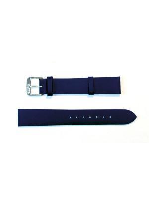 Ремень для часов 16 мм. Di-Modell Nappa Wapro. Цвет: синий