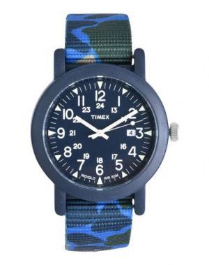 Наручные часы TIMEX. Цвет: лазурный