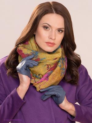 Перчатки MICHEL KATANA`. Цвет: синий