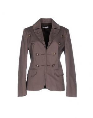 Пиджак MISS MONEY. Цвет: свинцово-серый