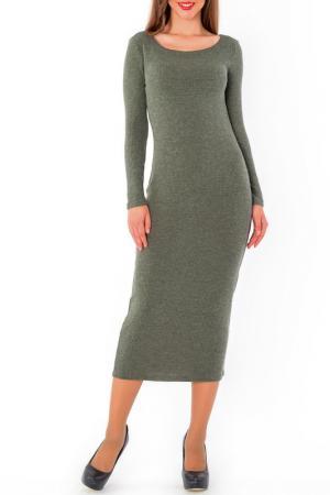 Платье S&A style. Цвет: оливковый