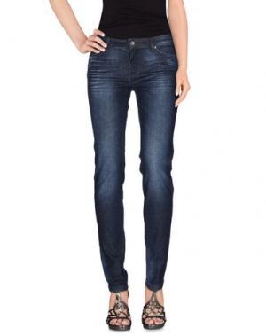 Джинсовые брюки ROMEO GIGLI SPORTIF. Цвет: синий