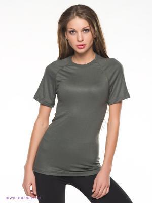 Термобелье-футболка BlackSpade. Цвет: хаки